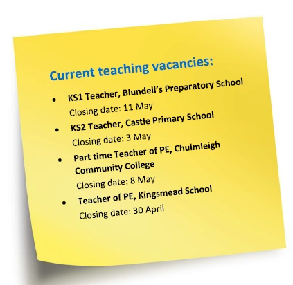 Vacancies April 2018