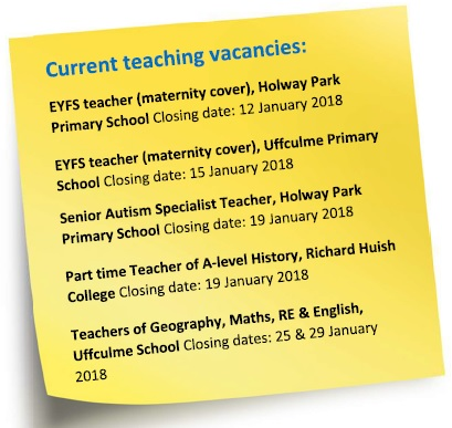 Vacancies Jan 2018
